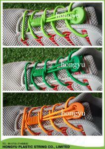 No Tie Bungee Elastic Locks Shoe Lace pictures & photos