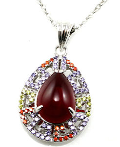 Good Quality and Fashion Silver Pendant Jewelry, Love Heart Pendant P4991 pictures & photos