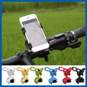Cell Phone Accessories Clip-Grip Handlebar Bike Mount Holder Stand pictures & photos