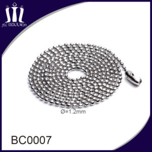 Wholesale Metal Stainless Steel Jewelry Ball Bead Chain pictures & photos