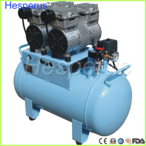 60L Dental One-Driving-One Oilless Air Compressor pictures & photos