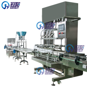 Automatic Liquid Filling Machine with Gravity-Type Filling pictures & photos