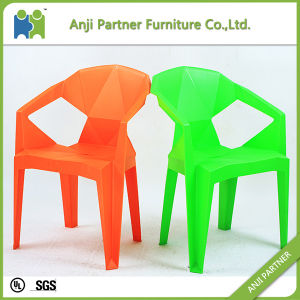 Stackable High Quality Orange and Green Plastic Dining Room Chair (Jerry) pictures & photos
