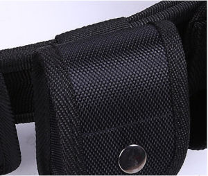 Whole Selling Police Multifunctional Nylon Black Police Tactical Belt pictures & photos