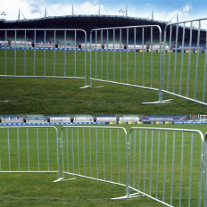 Crowd Control Barrier for Event / Portable Barricade / Pedestrian Barriers pictures & photos