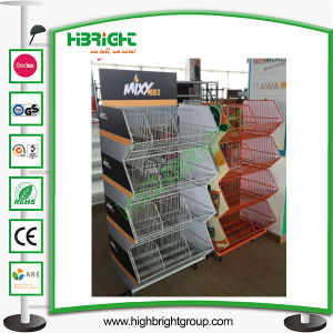 Promotional Stacking Wire Basket for Supermarket pictures & photos