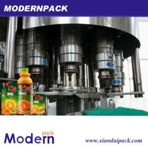 New Technology Juice / Milk / Tea Hot Bottling Filling Machine pictures & photos