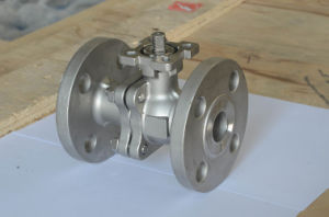 Stainless Steel Ball Valve with Pneumatic Actuator Manufacturer pictures & photos