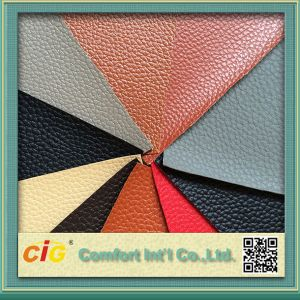 PVC New Designs Leather with High Quality Products pictures & photos