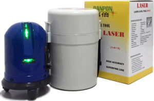 Vh620g Two Crossing Beams Green Laser Level Tool 360 Rotating pictures & photos