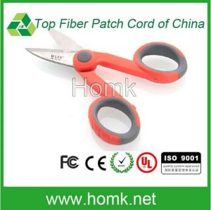 Fiber Optical Kevlar Cutter with Ergonimic Molded Handles pictures & photos