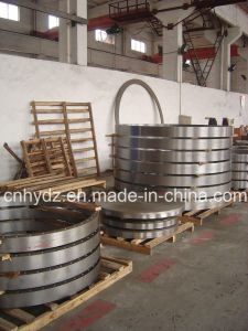Hot Forged Reducing Nozzle Flange of Material A182 F316L pictures & photos