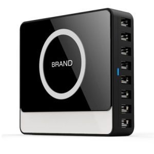 8 Port 60W 12A High Speed Desktop USB Charger pictures & photos