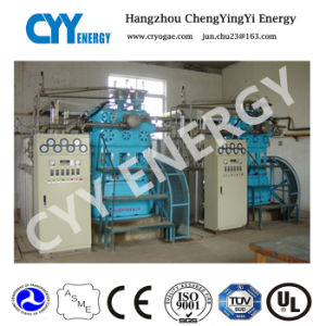 Vertical Three Rank Five Stage Water Lubrication Nitrogen Piston Compressor pictures & photos