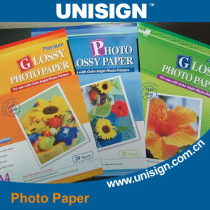 High Glossy Inkjet Photo Paper for Printing pictures & photos