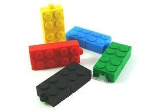 Custom USB Memory Stick, Building Block Custom Shape USB, PVC USB Flash Drive pictures & photos
