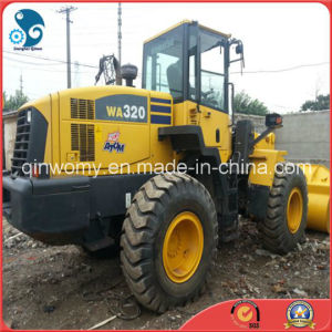 3~5cbm/11ton Medium Front-Discharge Original-Paint Watercooling-Diesel-Engine Janpan Komatsu Wa320 Wheel Loader pictures & photos