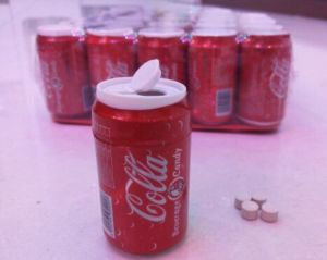 Bubble Gum Packing in Coca-Cola Jar pictures & photos