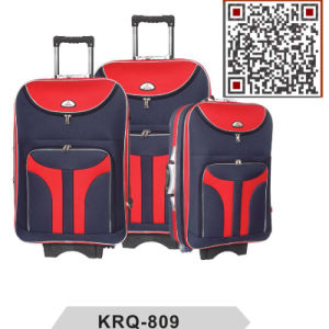 300d Shantung Silk Polyester Soft Luggage Travelling Bag pictures & photos