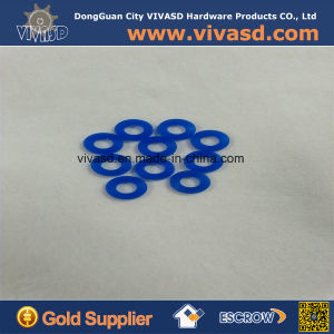 Custom Precision CNC Machining Plastic Floating Washer pictures & photos