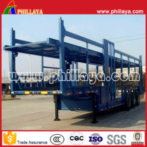 Car Hauler Trailer/ Car Carrier Semi Trailer for 6-12cars Loading pictures & photos