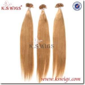 8A Double Drawn Human Hair U-Tip Extension pictures & photos
