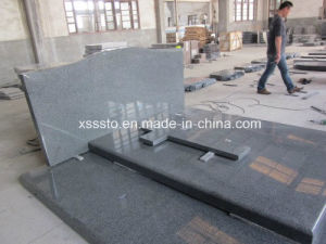 Fast Delivery Quality Assurance G654 Black Granite Tombstone pictures & photos