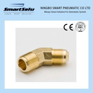 Ningbo Smart Brass Fittings Compression Sleeve Froge 45 Degree Elbow pictures & photos