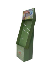 Advertising Corrugated Sidekick Display Stands, Pop Cardboard Display pictures & photos