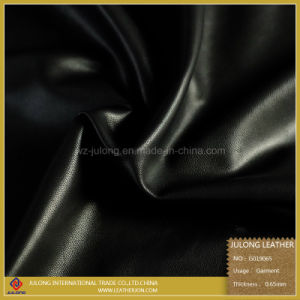 Sheep Grain PU Garment Leather (G019) pictures & photos
