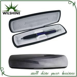 Plastic Pen Box in Black Color for Single Pen (BX025A) pictures & photos