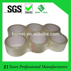 Clear Acrylic BOPP Adhesive Packaging Tape pictures & photos