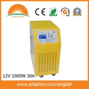 (X9-T10212-30) Hot Sale 12V 1000W Pure Sine Wave Inverter with 30A Controller pictures & photos