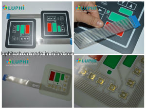 Gold Plated Domes Membrane Switch (MIC-0024) pictures & photos