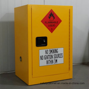 Westco 12 Gallon Yellow Safety Storage Cabinet for Flammables (OSHA & NFPA)
