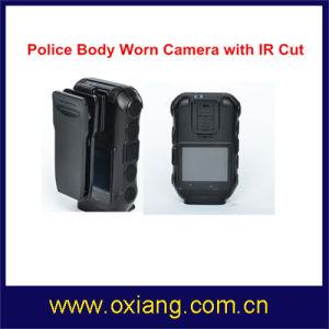 Waterproof GPS GPRS Police Body Worn Camera DVR (OX-ZP610) pictures & photos