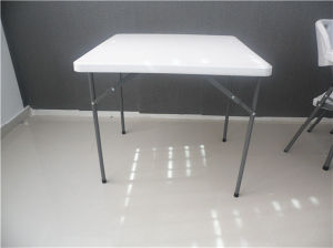 80cm Light-Weight Plastic Folding Square Table for Outdoor Use pictures & photos