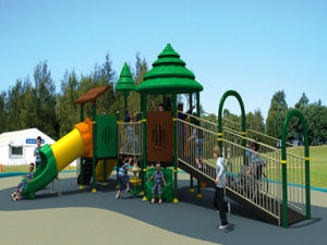 Outdoor Play Set for Disabled Children (TY-1215A) pictures & photos