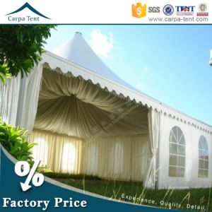 5X5m 10X10m White Cheap Aluminum Pagoda Outdoor Wedding Tents pictures & photos