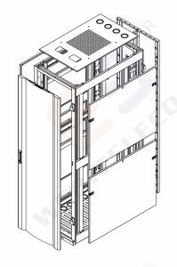 600/800mm Width Server Rack for 19′′ Equipments pictures & photos