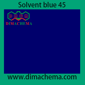 CAS No. 37229-23-5 Solvent Blue 45 pictures & photos