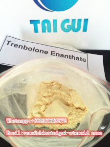 Yellow Muscle Growth Raw Steroid Powders Trenbolone Enanthate Tren Enan Injectable pictures & photos