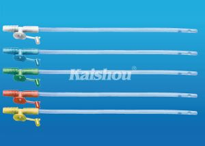 Disposable Medical Control Valve Suction Catheter (Fr16) pictures & photos