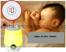 Color Changing LED Table Desk Night Lamp with Portable Mini Speaker Bluetooth pictures & photos