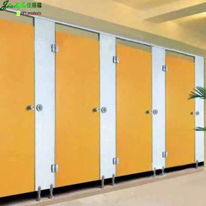 Jialifu Waterproof Compact Laminate Toilet Cubicle Partition pictures & photos