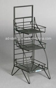 New Product Floor-Type Display/ Metal Display Stand pictures & photos