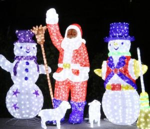 Acrylic Old Santa Man LED Christmas Light pictures & photos
