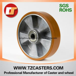 PU Wheel with Aluminum Rim pictures & photos