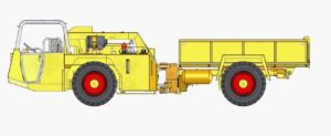Anti Explosion Diesel Truck with Rubber Wheel pictures & photos