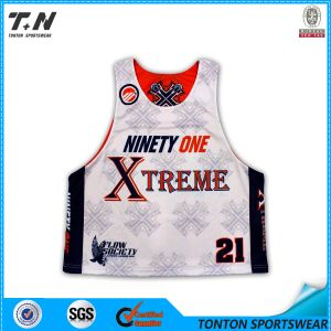 Wholesale Custom Sublimation Lacrosse Jersey for Men pictures & photos
